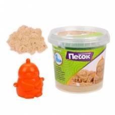 Кинетический песок 0,5 кг, цвет Классический, 3D формочка Color Puppy