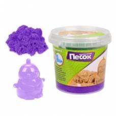 Кинетический песок 0,5 кг, цвет Фиолетовый, 3D формочка Color Puppy