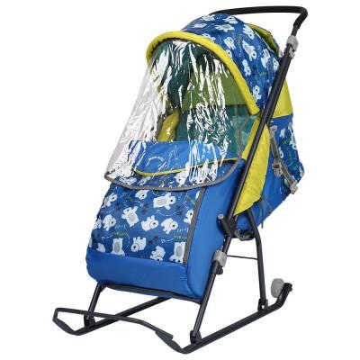 Детские санки-коляска