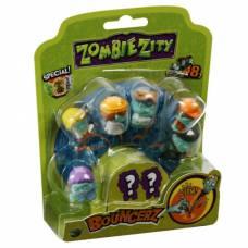 8 фигурки зомби в блистере Zombie Zity Dracco